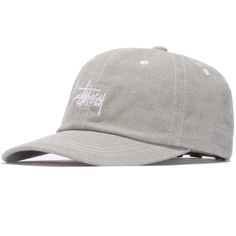 STUSSY - WASHED STOCK LOW PRO CAP - GREEN