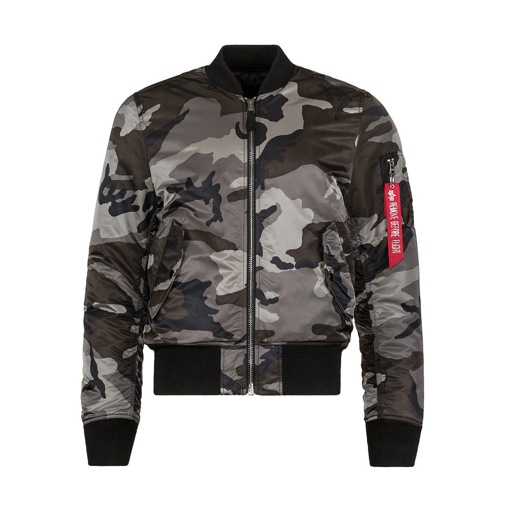 ALPHA - MA-1 SLIM FIT/EUROPEAN FIT - TONAL/BLACK/CAMO