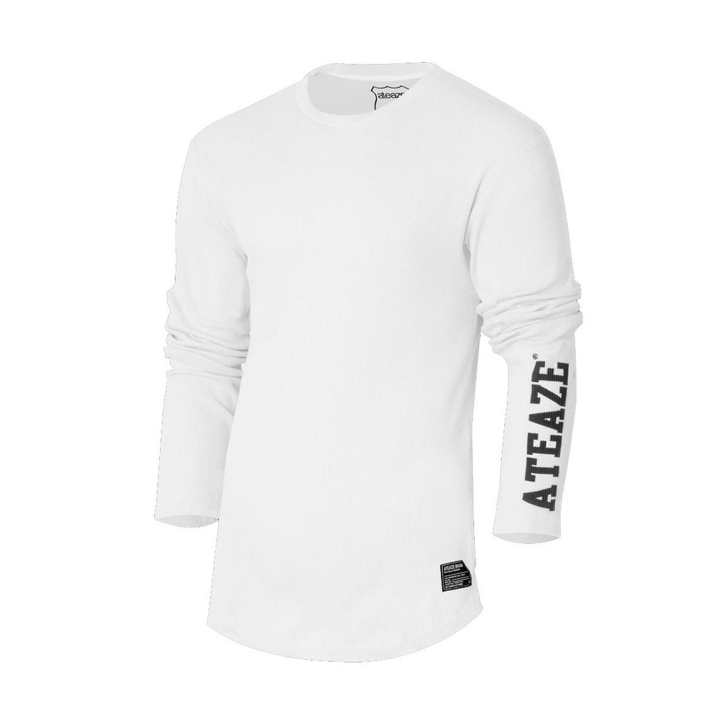 ATEAZE THERMAL L/S - OFF WHITE