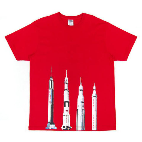 BBC - BLAST OFF SS TEE - RACING RED