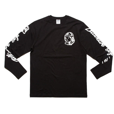 BBC - UNIT BB04C LS TEE - BLACK