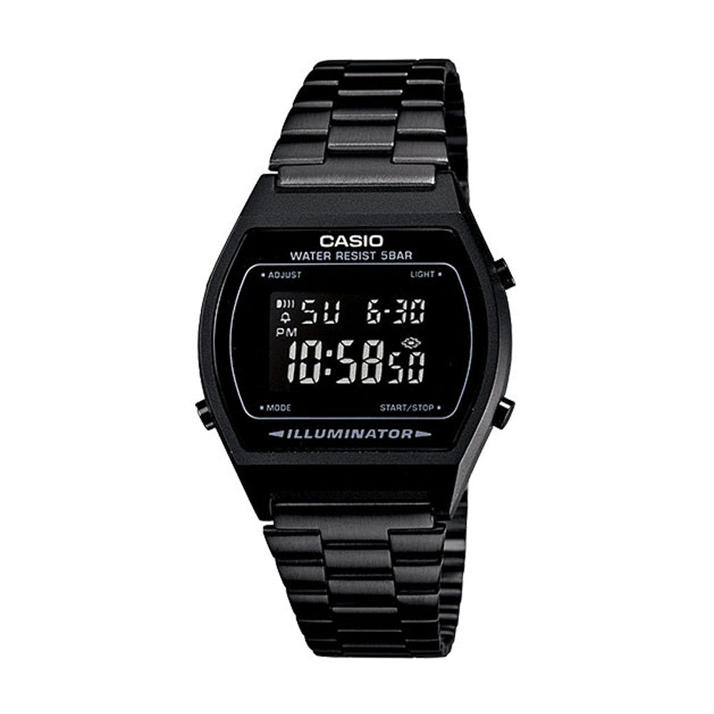 CASIO - MENS RETRO COLLECTION DIGITAL BLACK