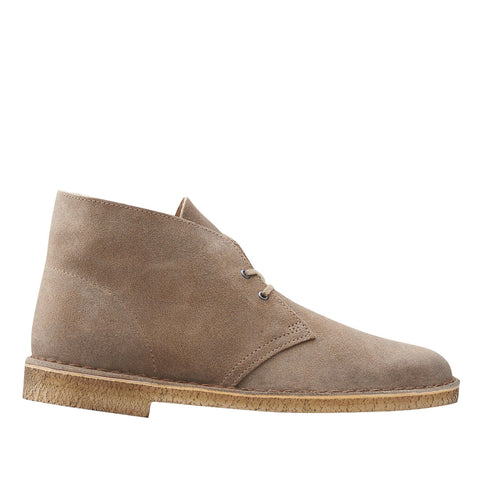 Clarks - Desert Boot - Taupe Distressed Suede