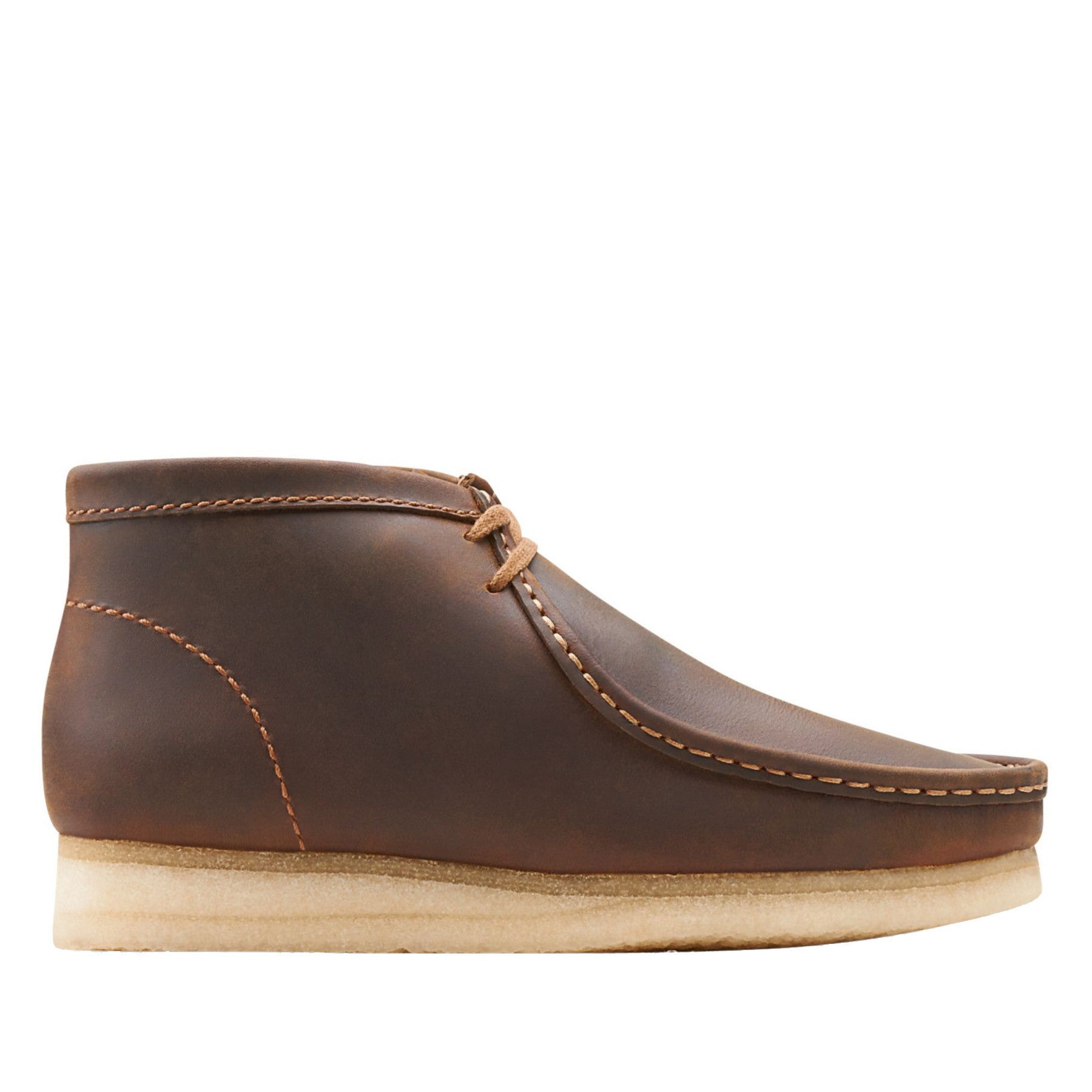 72bd546c0ac Clarks - Wallabee Boot - Beeswax Leather – AtEaze