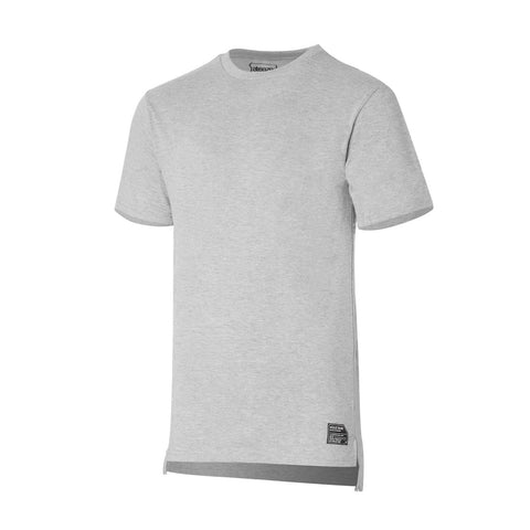 ATEAZE DROPBACK TEE - HEATHER GREY