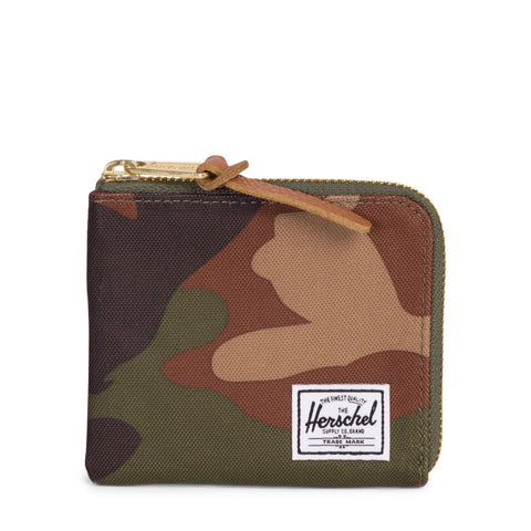 HERSCHEL - JOHNNY WALLET - WOODLAND CAMO - Ateaze USA