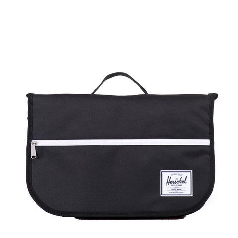 HERSCHEL - POP QUIZ MESSENGER - BLACK - Ateaze USA