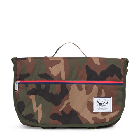 HERSCHEL - POP QUIZ MESSENGER - WOODLAND CAMO Ateaze USA