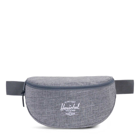 HERSCHEL - SIXTEEN HIP PACK - RAVEN CROSSHATCH Ateaze USA