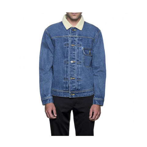 HUF - BROOKLYN DENIM JACKET - LIGHT BLUE