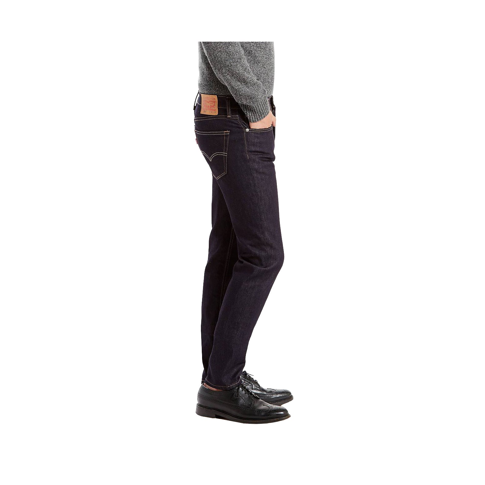 aa1f2e76b28 LEVI S - 511™ SLIM FIT STRETCH JEANS - DARK HOLLOW – AtEaze
