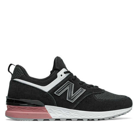 New Balance - 574 Sport - Black with Dusted Peach