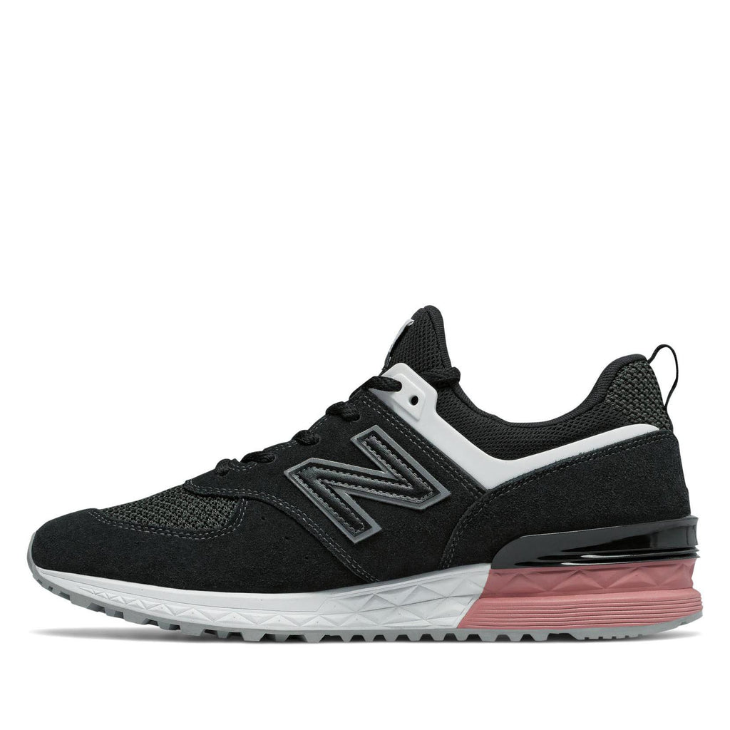 3684ac4d4 New Balance - 574 Sport - Black with Dusted Peach. Previous. Next. Previous