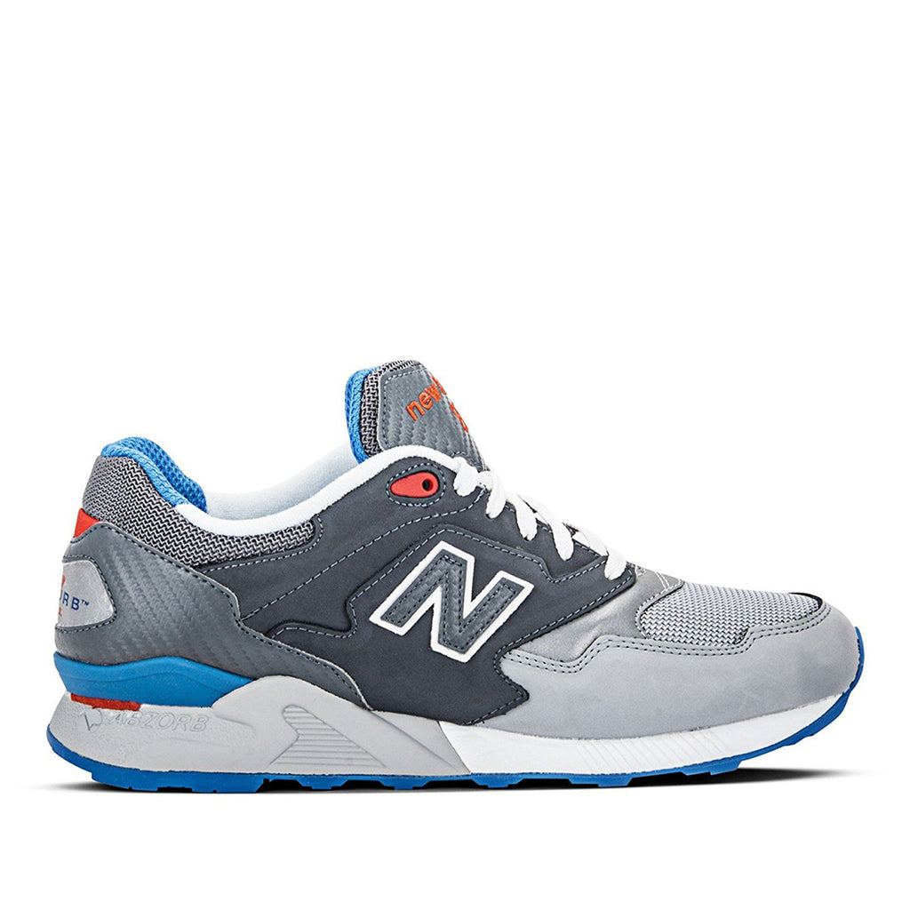 New Balance 878 - Classic Traditional Grey Blue Red
