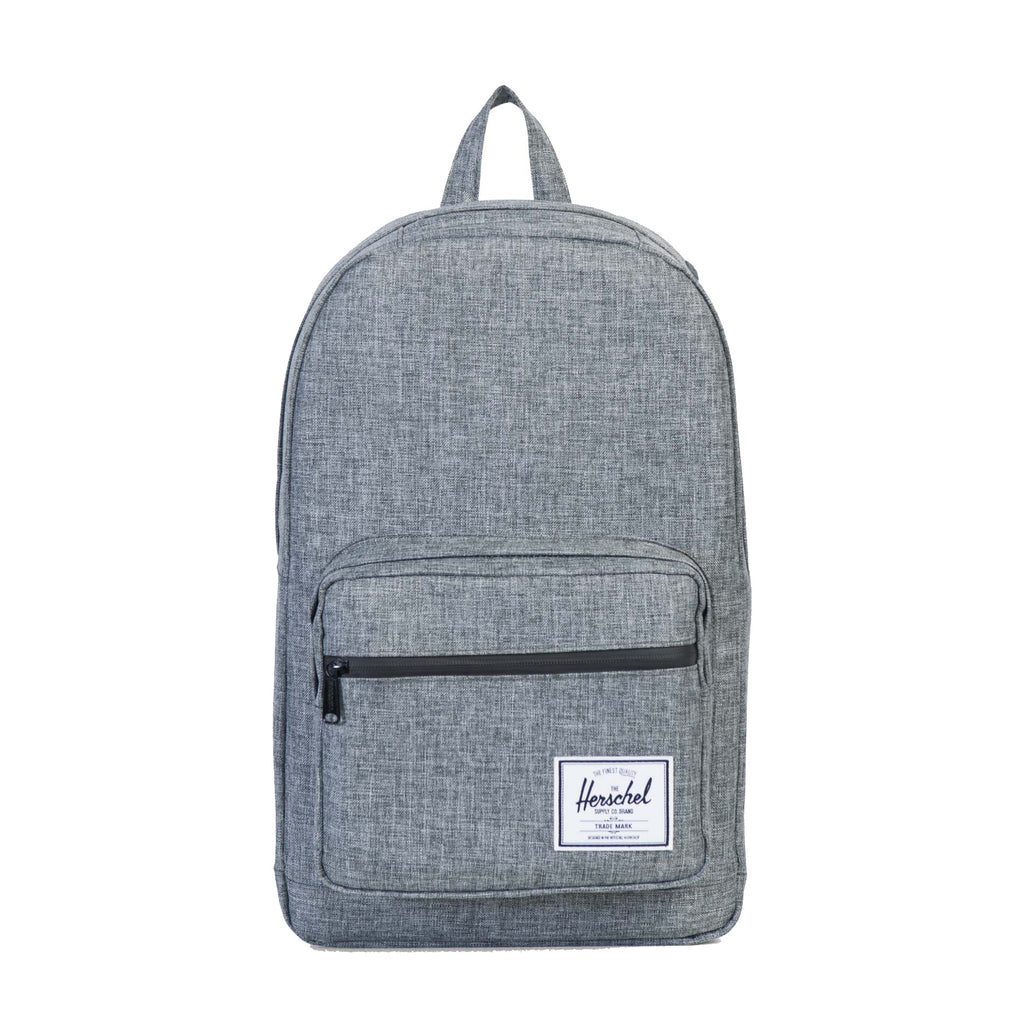 POP QUIZ RAVEN CROSSHATCH BACKPACK