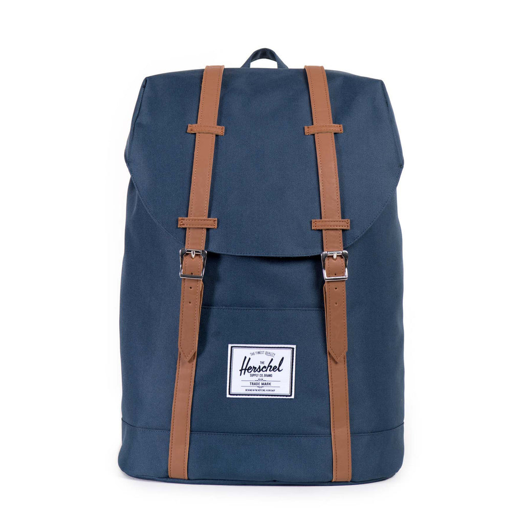 RETREAT 600D POLY NAVY BACKPACK