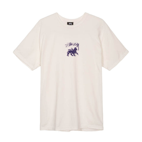 STUSSY - STOCK LION TEE - NATURAL - Ateaze USA