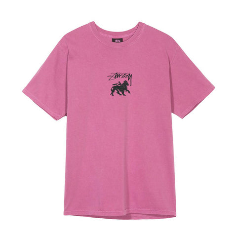 STUSSY - STOCK LION TEE - ORCHID - Ateaze USA