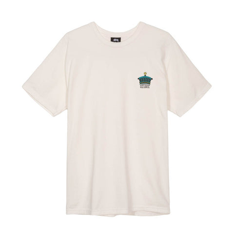 STUSSY - THE CROWN TEE - NATURAL - Ateaze USA