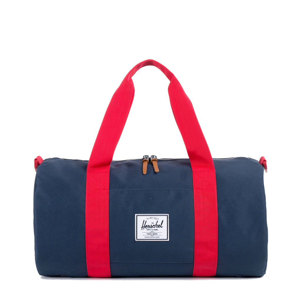 SUTTON MID-VOLUME NAVY/RED DUFFLE BAG