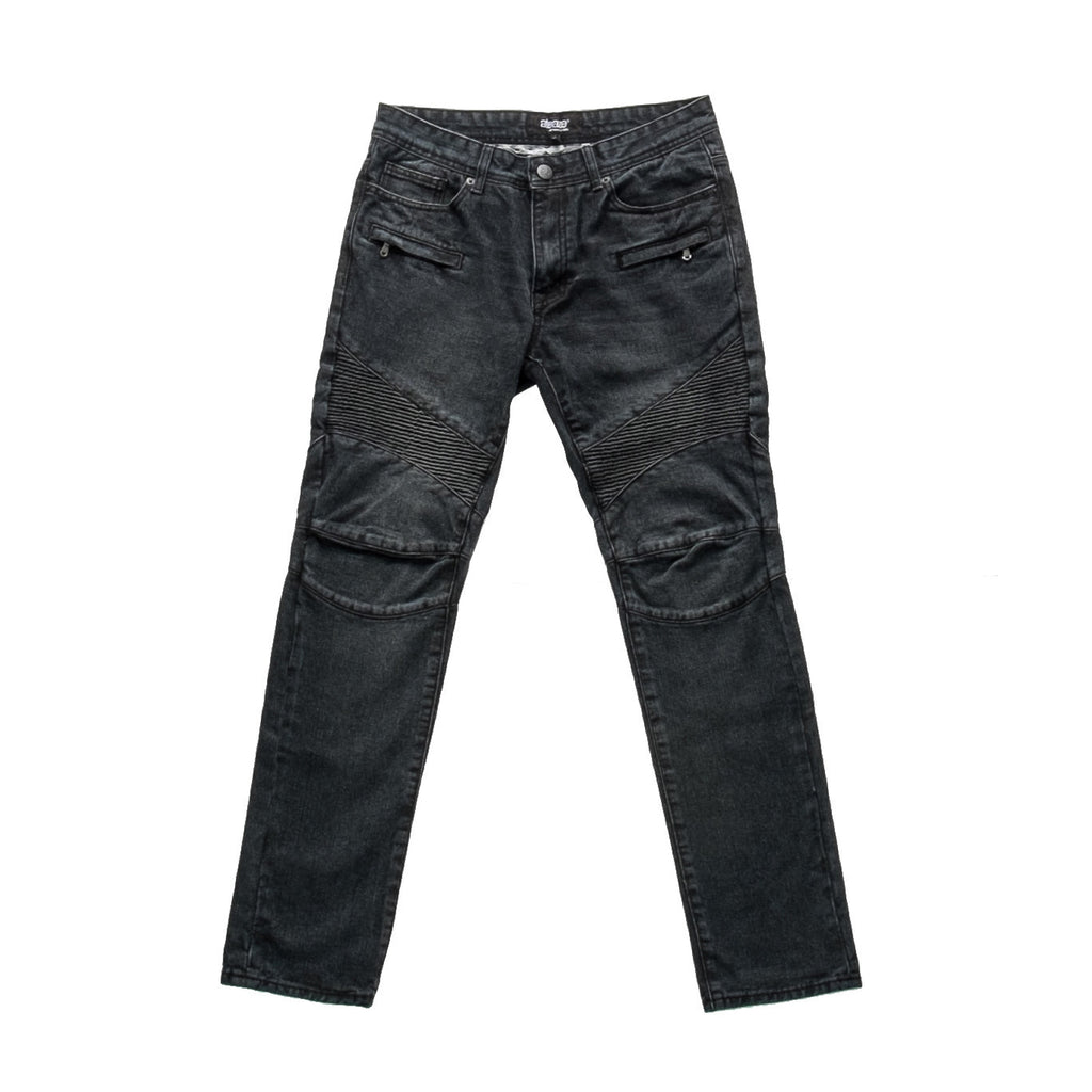 ATEAZE RAMBO MOTO DENIM -BLACK