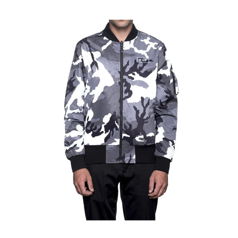 HUF - STANDARD ISSUE MA-1 - WHITE/CAMO