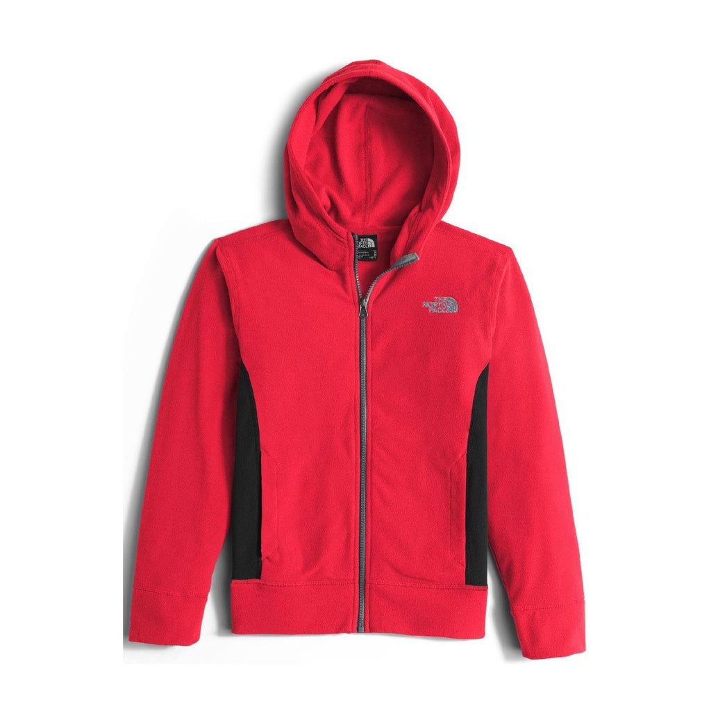 The North Face - Boys Glacier Full Zip Hoodie - TNF Red