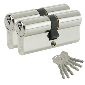 YALE Euro Cylinder Lock uPVC Aluminium Timber Door Barrel Anti Pick Anti Drill -  - Yale - UPVCSTORE