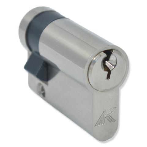 Replacement Garage Door Lock 35/10 Half Euro Cylinder Lock uPVC Aluminium Door Barrel