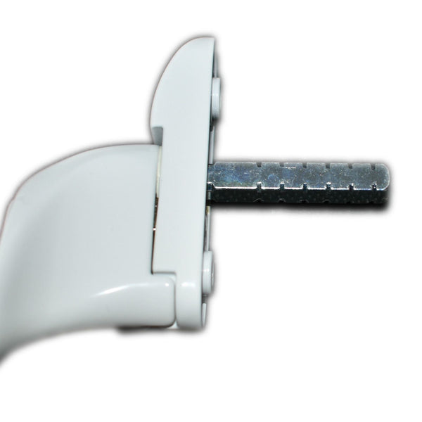 Fab n Fix Cranked Espag Locking Window Handle UPVC and Double Glazing Left Hand -  - Fab & Fix - UPVCSTORE