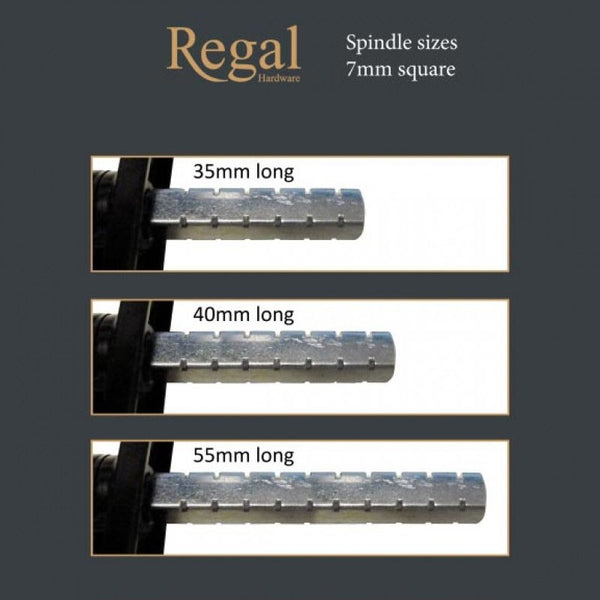 Regal Hardware Pear Drop Window Handle Casement Fastener Flush Sash -  - UPVCSTORE - UPVCSTORE