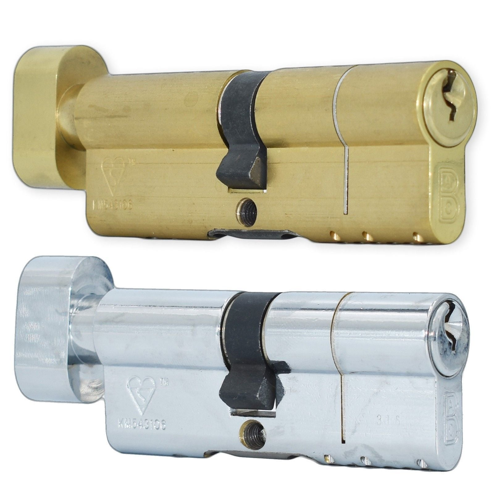 ABC High Security Anti Snap Kite Mark Door Lock Euro Profile Cylinder Thumb Turn -  - ABC - UPVCSTORE