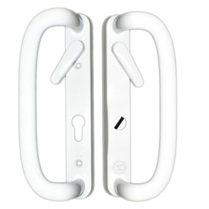 UPVC Door Handle Mila Prosecure 92PZ Sprung Double Glazing Pair Set Patio PAS24 -  - Mila - UPVCSTORE
