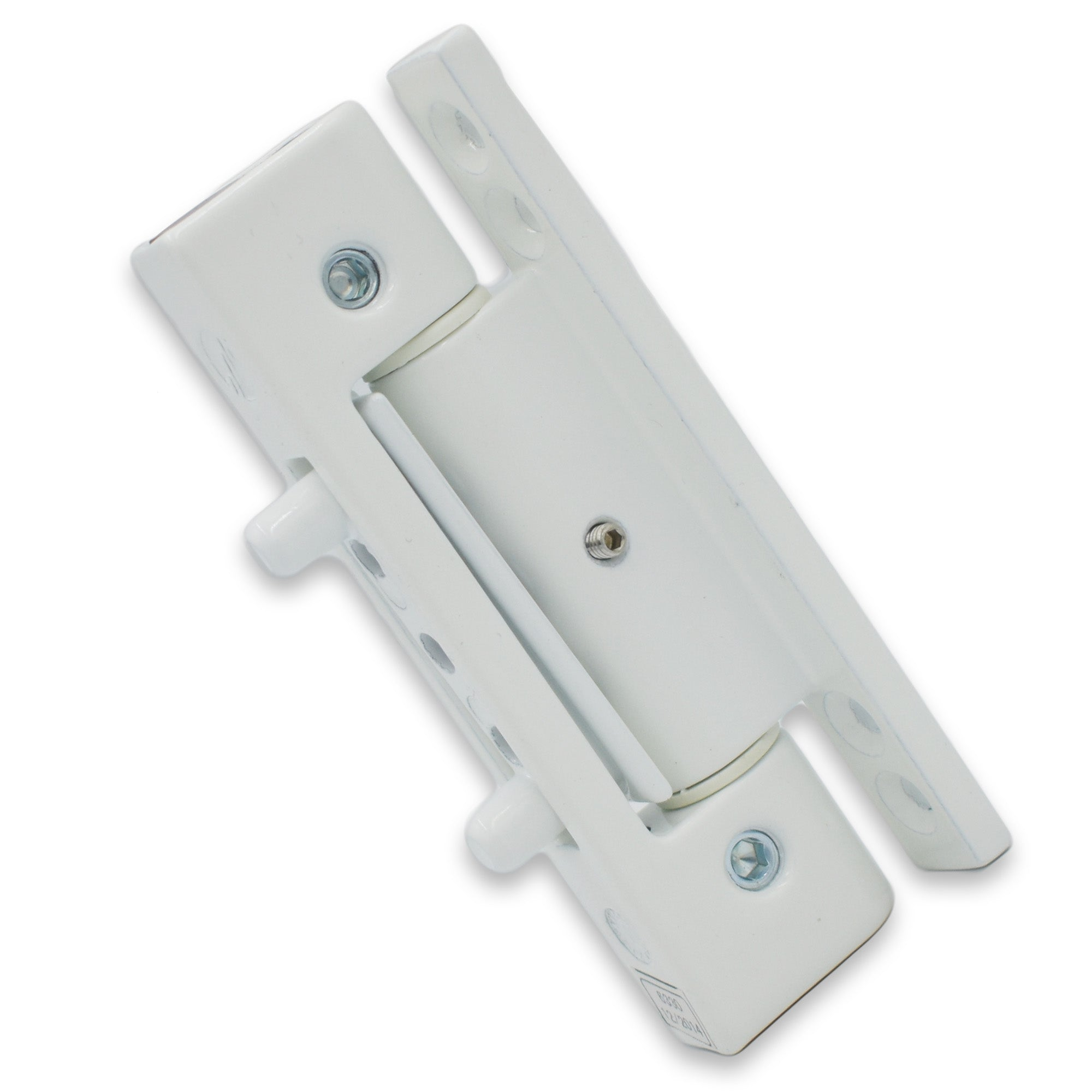 Mila White iDeal Adjustable Upvc Door Butt Security Hinge 0 Deg 110mm -  - Mila - UPVCSTORE