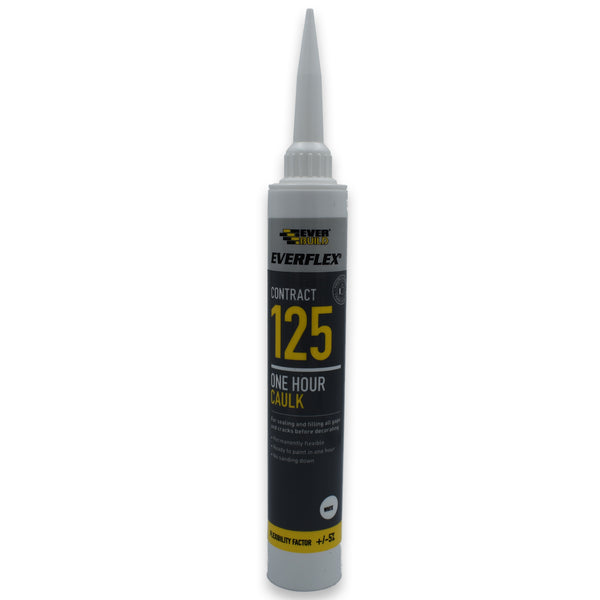 One Hour Caulk C3 | Everbuild 125 Fast Drying Decorators Flexible Sealant Filler -  - Everbuild - UPVCSTORE