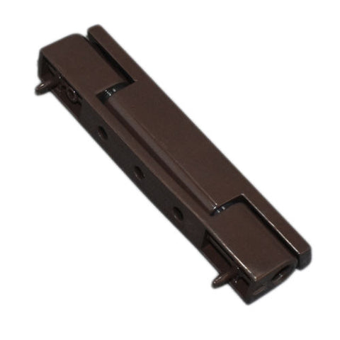 Avocet UPVC Door Butt Hinge Flat And Angled Brown 115mm Hinge Butt Hinge -  - Avocet - UPVCSTORE