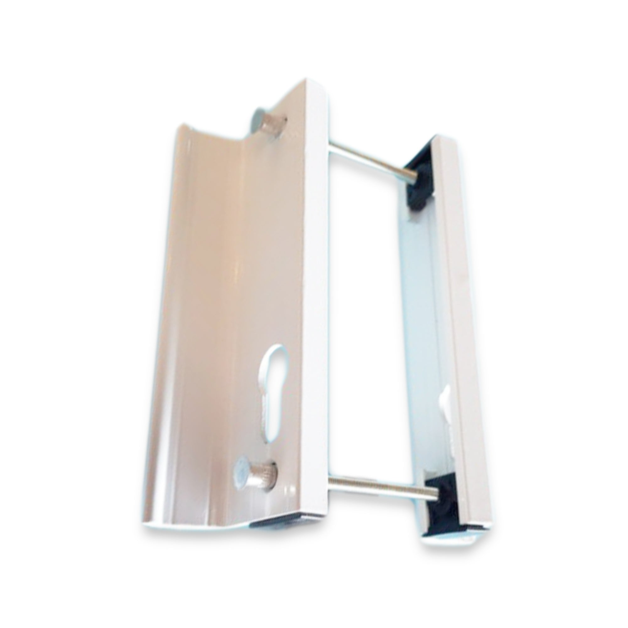 Schlegel UPVC Inline Sliding Patio Door Handle 43mm PZ 135mm Screw Centres Pair -  - Schlegel - UPVCSTORE