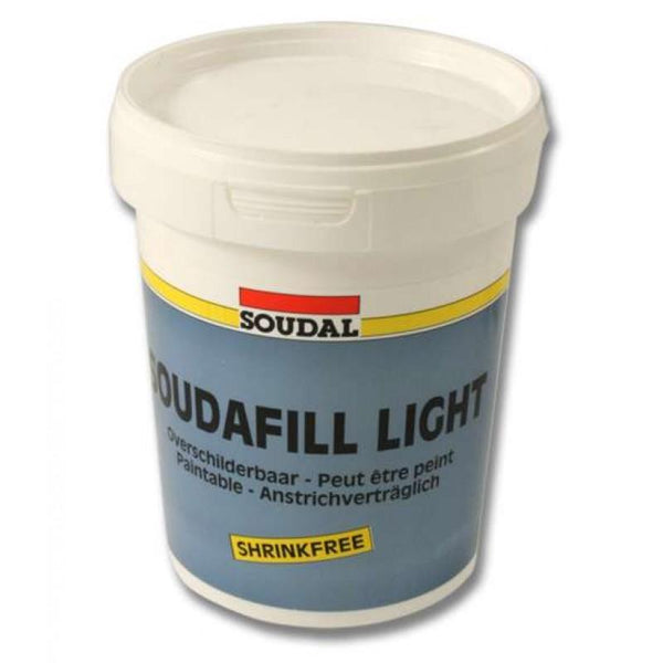 Ultra light weight filler Soudafill Light 900ml White -  - Soudal - UPVCSTORE