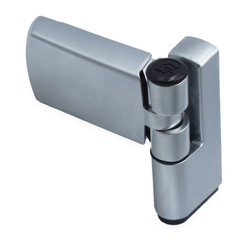 TROJAN PATRIOT PLUS FLAG HINGE IN SATIN SILVER FOR UPVC DOOR -  - UPVCSTORE - UPVCSTORE