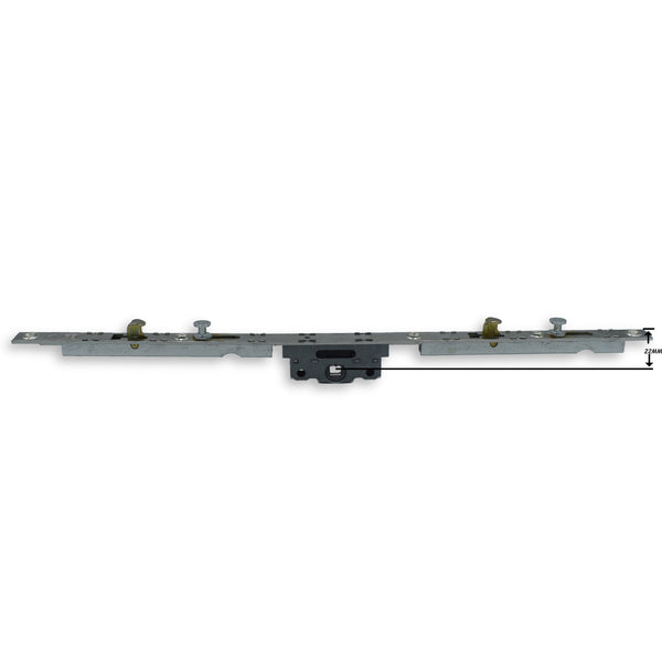 SI Aubi Inline Espag UPVC PVC Window Lock Gearbox Mechanism Flat Rail Bar Rod-1 -  - SI - UPVCSTORE