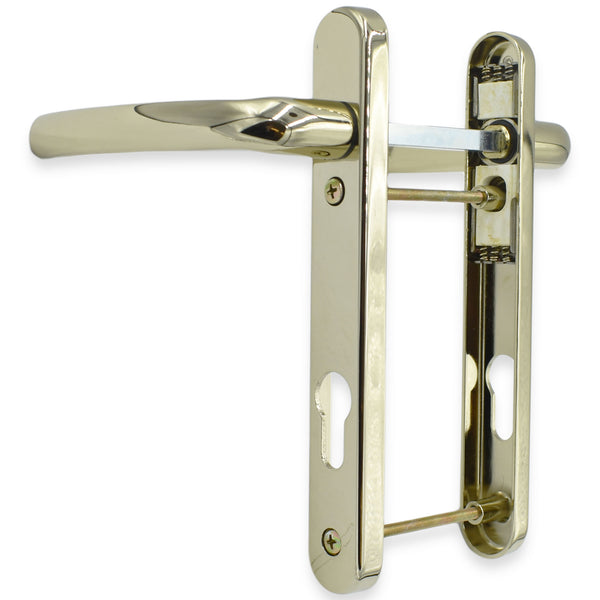 UPVC Door Handle Fab & Fix Gold 92PZ Sprung Double Glazing Pair Set Patio PVC -  - Fab & Fix - UPVCSTORE