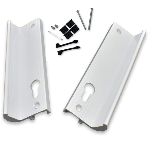 Genuine Fullex Patio Door Handle 52pz 170mm Screw Fix White 506 Series 2 -  - Fullex - UPVCSTORE