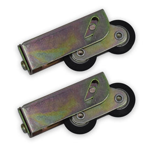 Pair of Tandem Sliding Patio Door Roller Wheels Aluminium Upvc Timber 32mm -  - WP - UPVCSTORE