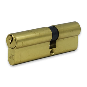 Kenrick 6 Pin Brass Euro Cylinder ( 40 / 55 ) -  - UPVCSTORE - UPVCSTORE