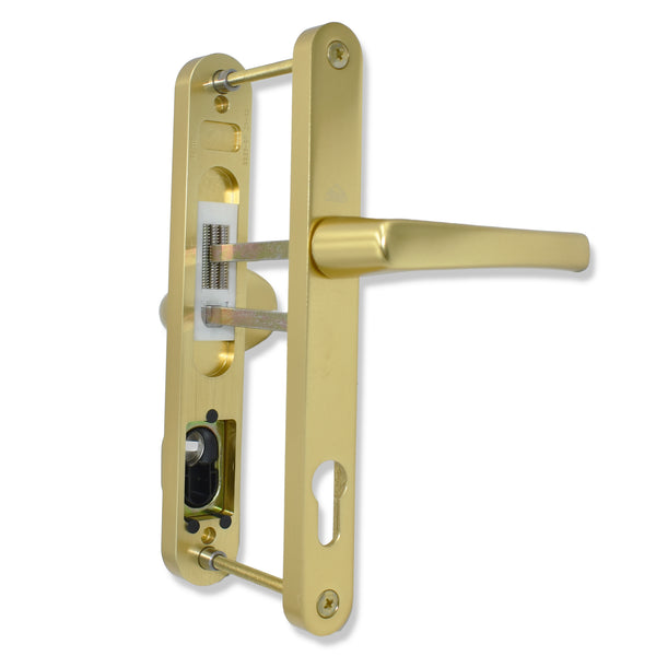 Roto Yale Mila Match Lever Pad Offset Door Handle 92 and 62mm PZ 215mm Screw Fix -  - Roto - UPVCSTORE