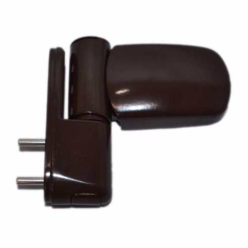 UPVC Double Glazing Door Flag Hinges Adjustable Avocet MT3D Triad Brown -  - Avocet - UPVCSTORE