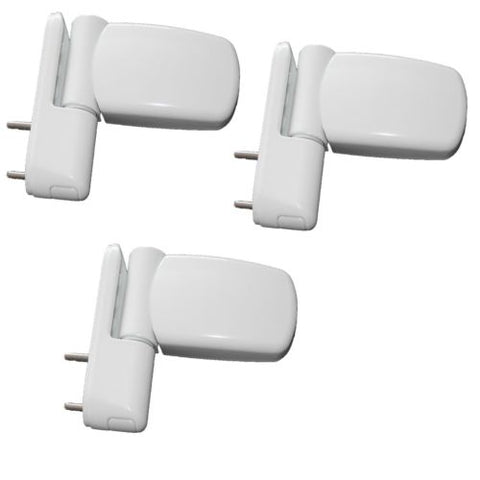 Set of 3 UPVC Double Glazing Door Flag Hinge Adjustable Avocet ET3D -  - Avocet - UPVCSTORE