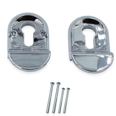 High Quality Polished Chrome Finish Euro Door Cylinder Pull -  - UPVCSTORE - UPVCSTORE