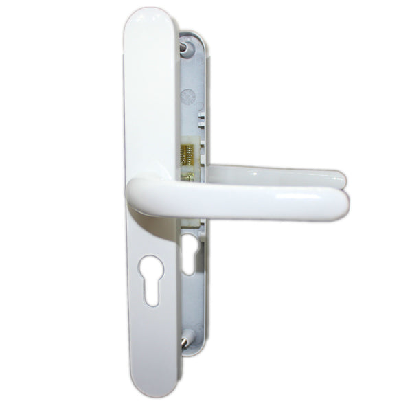 48pz uPVC Door Handle Sprung Pair 215mm Set Double Glazing PVC -  - ABT - UPVCSTORE