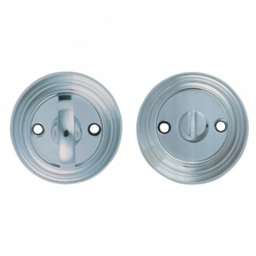Carlisle Delamain turn and release 55mm diameter chrome Bathroom Privacy Lock -  - Carlisle - UPVCSTORE